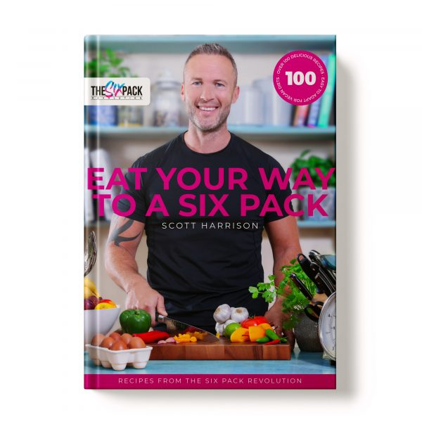 Eat Your Way To A Six Pack Book Cover